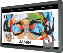 David Jamin, artiste peintre de l'introportrait
